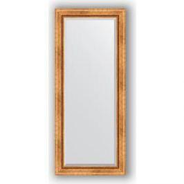 Зеркало с фацетом в багетной раме поворотное Evoform Exclusive 66x156 см, римское золото 88 мм (BY 3568)