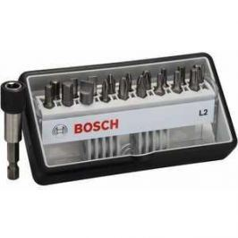 Набор бит Bosch х25мм PH/PZ/TX/SL/HEX 18шт + держатель Extra Hart Robust Line (2.607.002.568)