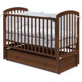 Кровать Fiorellino Tina маятник продольный 120х60 oreh