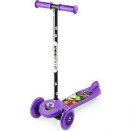 Самокат 3-х колесный Small Rider Cosmic Zoo Scooter Фиолетовый (1233592/цв 1233595)