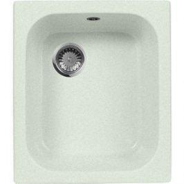 Кухонная мойка AquaGranitEx M-17 420х485 салатовый (M-17 (303))