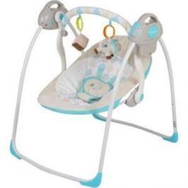 Электрокачели Baby Care Riva с адаптером (32006) синий