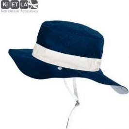 Ki ET LA Панама двухсторонняя Синяя UPF 50+ 2-4 года (50/52 см) (KA3NAVY)