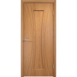 Дверь VERDA Богемия глухая 2000х600 ПВХ Миланский орех
