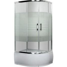 Душевой уголок Luxus Lang левосторонняя с поддоном (L013 L)