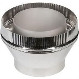Переходник Феникс труба/сэндвич диаметр 115/200 мм (1.0 нерж.мат./0.5 оцинк.)(00824)