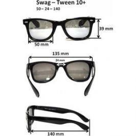Cолнцезащитные очки Real Kids для тинейджеров Wag черный/розовый (10WGBKPK)