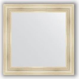Зеркало в багетной раме Evoform Definite 82x82 см, травленое серебро 99 мм (BY 3252)