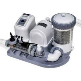 Хлоргенератор Intex 28674 Krystal Clear (система морской воды с фильтр-насосом для бассейна до 26500л )