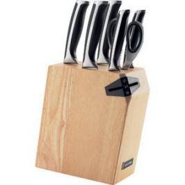 Набор из 5 кухонных ножей, ножниц и блока для ножей с ножеточкой Nadoba Ursa (722616)