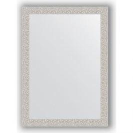 Зеркало в багетной раме поворотное Evoform Definite 51x71 см, мозаика хром 46 мм (BY 3036)