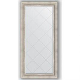 Зеркало с гравировкой поворотное Evoform Exclusive-G 76x158 см, в багетной раме - римское серебро 88 мм (BY 4276)