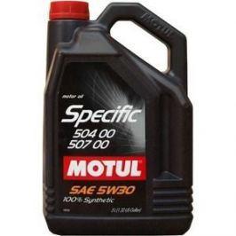 Моторное масло MOTUL Specific VW 504/00/507/00 5w-30 5 л