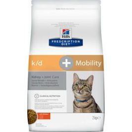 Сухой корм Hill's Prescription Diet k/d & Mobility with Chicken с курицей диета при заболеваниях почек и суставов для кошек 2кг (10748)