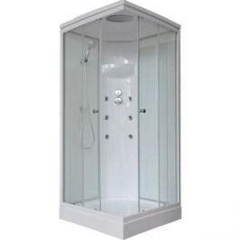 Душевая кабина Royal Bath 90х90х217 стекло белое/прозрачное (RB90HP3-WT)