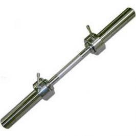 Гриф гантельный КМС d 50 мм (металическая ручка, замок стопорный) L710 мм