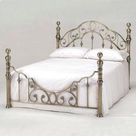 Кровать металлическая TetChair VICTORIA 160x200, цвет античная медь