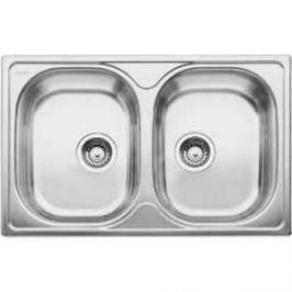 Мойка кухонная Blanco Tipo 8 compact нерж сталь матовая (513459)