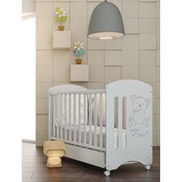 Кроватка Micuna Sweet Bear 120*60 white с матрацем CH-620