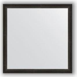 Зеркало в багетной раме Evoform Definite 60x60 см, черный дуб 37 мм (BY 0614)