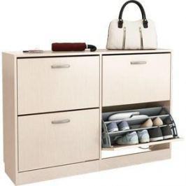 Обувница Мастер Дженни-22 (дуб молочный) МСТ-ОДД-22-ДМ-16