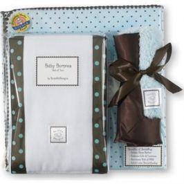 Подарочный набор SwaddleDesigns для новорожденного Gift Set PB w/ Brown Dot (SD-014PB-G)