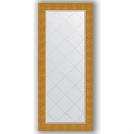 Зеркало с гравировкой поворотное Evoform Exclusive-G 66x156 см, в багетной раме - чеканка золотая 90 мм (BY 4151)