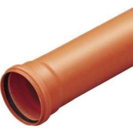 Труба Ostendorf 160 2000 мм красная