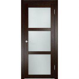 Дверь ELDORF Баден-2 остекленная 2000х700 экошпон Дуб темный