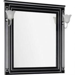 Зеркало Aquanet Паола 90 черное (181766)