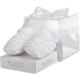 Носки детские NaNan с мишкой белые (CONTS01B)