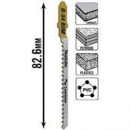 Пилки для лобзика Makita 82мм 5шт T101AOF Super Express (B-10986)