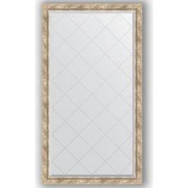 Зеркало с гравировкой поворотное Evoform Exclusive-G 93x168 см, в багетной раме - прованс с плетением 70 мм (BY 4392)