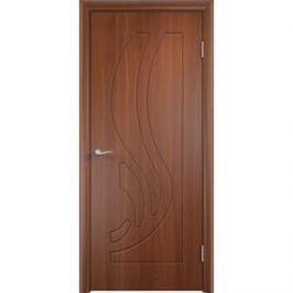 Дверь VERDA Лиана глухая 2000х600 ПВХ Итальянский орех