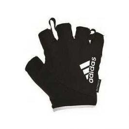Перчатки Adidas для фитнеса белые размер M (ADGB-12322 WH)