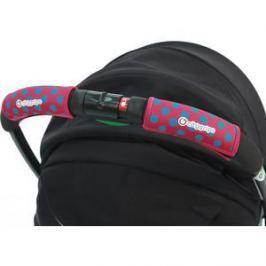 Чехлы Choopie CityGrips (Сити Грипс) на ручку для универсальной коляски 372/4196 polka-dot pink
