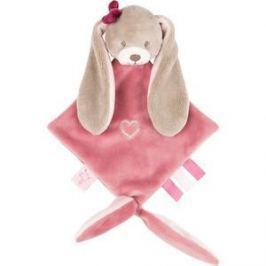 Игрушка мягкая Nattou Doudou (Наттоу Дуду) малая Nina, Jade & Lili Кролик 987141