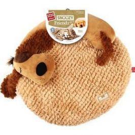 Лежанка GiGwi Snoozy Friendz Warm&Comfort лежанка 3D собака для кошек и маленьких собак 57см (75415)