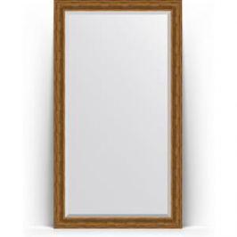 Зеркало напольное с фацетом поворотное Evoform Exclusive Floor 114x204 см, в багетной раме - травленая бронза 99 мм (BY 6169)