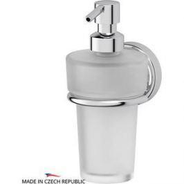 Держатель с емкостью для жидкого мыла FBS Ellea хром (ELL 009)