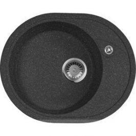 Мойка кухонная AquaGranitEx M-18L 570х460 черный (M-18L 308)