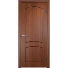 Дверь VERDA Кэрол глухая 2000х600 ПВХ Итальянский орех