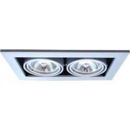 Точечный поворотный светильник Artelamp A5930PL-2SI