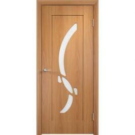 Дверь VERDA Милена остекленная 1900х600 ПВХ Миланский орех