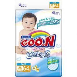 Подгузники Goon М 6-11кг 64шт 4902011751338