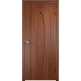 Дверь VERDA Орбита глухая 2000х600 ПВХ Итальянский орех