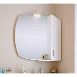 Зеркальный шкаф Aqwella Бельведер со светильником (Be.02.08)
