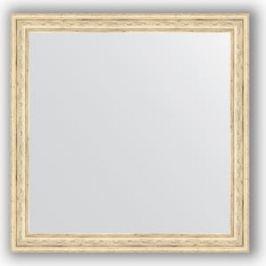 Зеркало в багетной раме Evoform Definite 63x63 см, слоновая кость 51 мм (BY 0780)