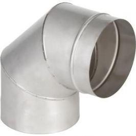 Отвод Феникс дымоходный 110 мм угол 90 градусов (1.0 нерж.мат.)(00897)