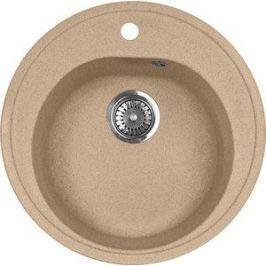 Мойка кухонная AquaGranitEx M-08 505х505 песочный (M-08 302)